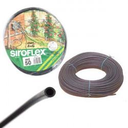 irrigation Siroflex Tuyau 4/6mm Rouleau de 50m (5045)