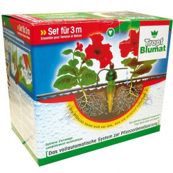 irrigation System For 12 Plants Carrot Blumat - Watering Holiday balcony and terrace without electricity