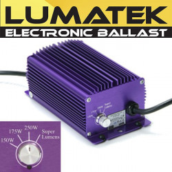 Electronic Ballast Lumatek 250W + Switch Superlumens , transformer, lighting