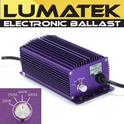 Electronic Ballast, Digital, Lumatek 400W + Switch Superlumens , transformer, lighting