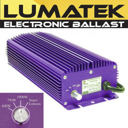 Ballast Électronique Digital Lumatek 1000W + Switch Superlumens , transformateur éclairage