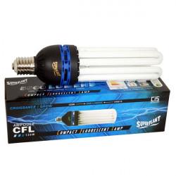 Bulb CFL 125W-Growth 6400K - Superplant, socket E40