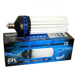 CFL bulb 300W Growth 6400K - Superplant, socket E40