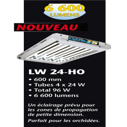 T5 Lightwave 96 W 4 X 24 W 6500 °K Croissance ,turbo néons , rampes fluorescents