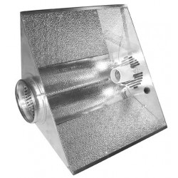 Reflector Sputnik 125mm Glassed Ventilated , socket E40 included