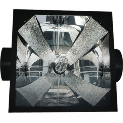 Reflector Black Og Air Cooled 200mm 1000W , socket E40 included