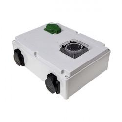 Davin Dv14K Timer Relais 4X600 W Max + Chauffage , programmateur lampes hps et mh