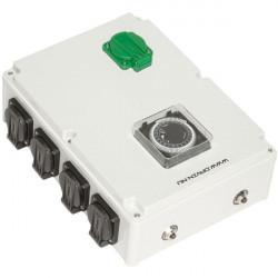Davin Dv28K Timer Relais 8X600 W + Chauffage , programmateur lampes hps et mh