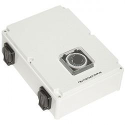 Davin Timer Relais Eco 8X600 W + Chauffage , programmateur lampes hps et mh