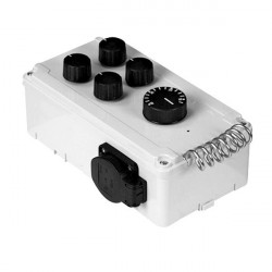 Davin Controller, 2 Fans With Thermostat Dv11T2
