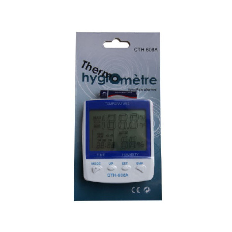 Thermo-Hygrometer with Probe - Winflex ventilation