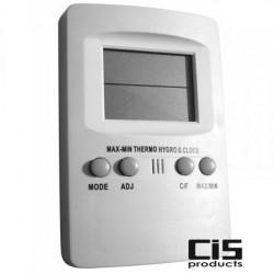 Thermo-Hygromètre digital - , température et humidité - winflex ventilation