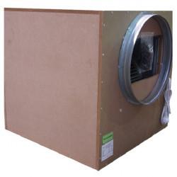 Casing extractor soundproof SonoBox wood 550 m3/h 35 x 35 cm 160 mm - Winflex , ventilator , ventilation