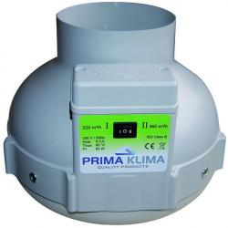 Extracteur air PK 125 mm 2 vitesses 220 - 400 m3/h Prima Klima, aérateur , ventilation