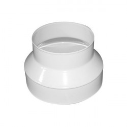 Reducer sleeve alu 150 - 125 mm - ventilation duct