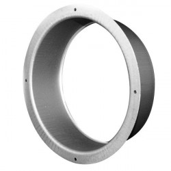 Flange Galva 125 mm - ventilation duct