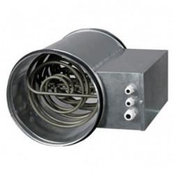 Chauffage-introducteur 125 mm (0,6 à 1 kW) 80 - 120 m3/h Pro - gaine de ventilation