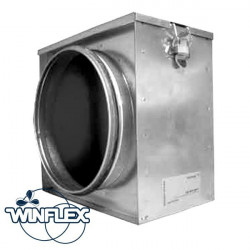 Particulate filter 125 mm full - ventilation duct