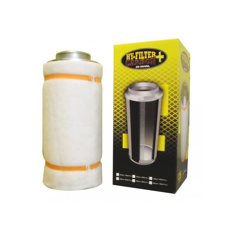 filtre à charbon actifs Hy-Filter V2 Carbon 500 m3/h flange 150 mm
