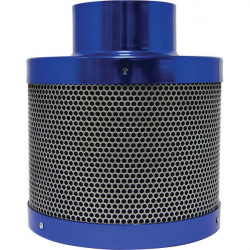 Charcoal filter the active Filter 100 x 150 200 m3/h flange 100 mm - Bull Filter