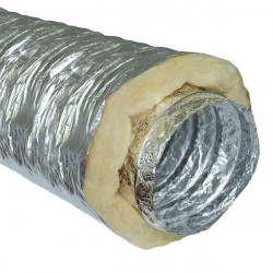 Gaine ventilation Sono 127 mm le carton de 10 mètres - Winflex Ventilation