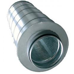 Silencieux ventilation Métal 125/600mm - Winflex Ventilation