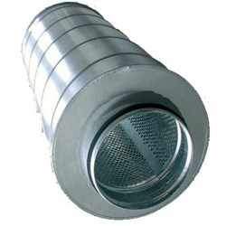 Silencieux ventilation Métal 150/600mm - Winflex Ventilation