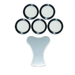 Lot de 5 de Membrane de rechange Teflon 20mm - Winflex ventilation - Brumisateur à ultrason