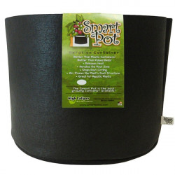 Pot 24 L - 7 gallons - Smart Pot , pot geotextile ,pot tissu