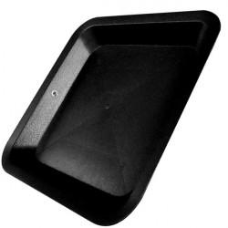 Coupelle carrée 28,5x28,5 cm , plateau , soucoupe