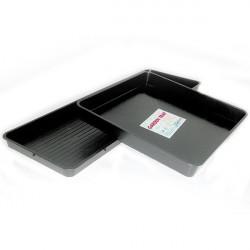 Table de récupération Garland 80x80x12cm 76.8L , plateau , soucoupe