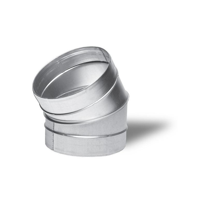 Winflex - Angle métal 30° 160mm-conduit de ventilation gaine