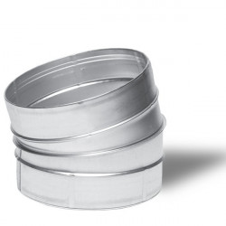WINFLEX ANGLE METAL 15° 160MM-conduit de ventilation gaine