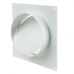 Winflex - flange carré 100mm anti-retour-conduit de ventilation gaine
