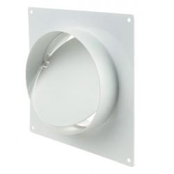 Winflex - flange, square 100mm non-return-duct ventilation duct