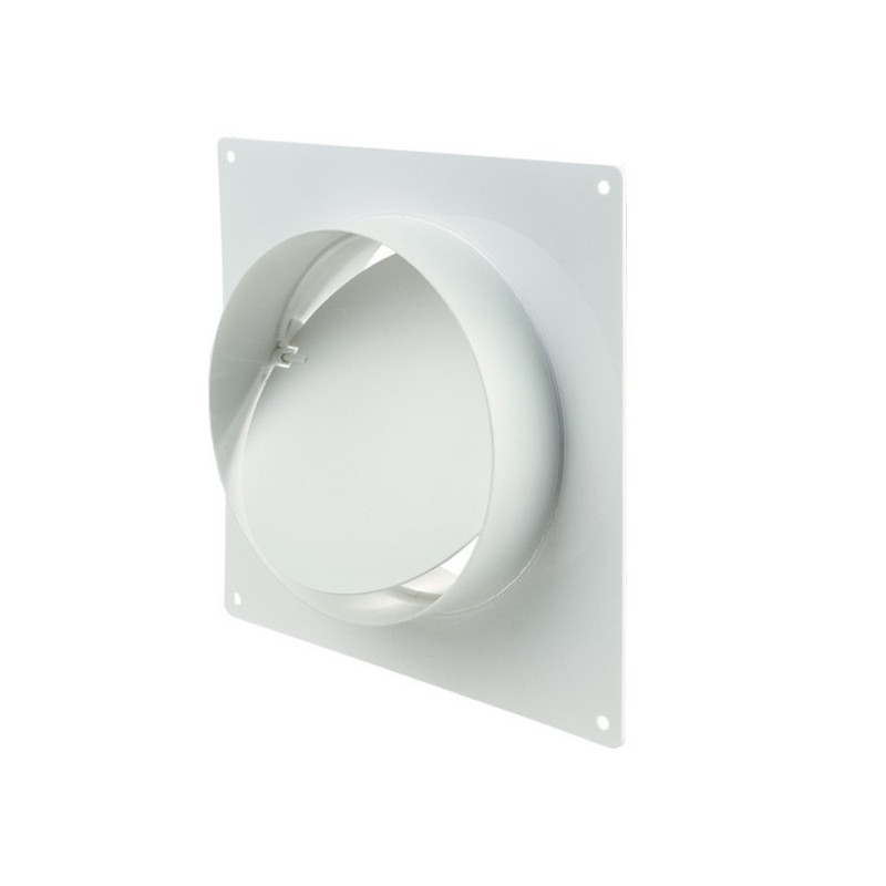 Winflex - flange carré 150mm anti-retour-conduit de ventilation gaine