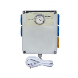 GSE TIMER BOX II 4X600W + HEATING - timer lamps hps and mh