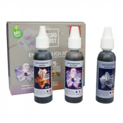 pack engrais orchidée ORCHIDEE 3X30ML (GROW+BLOOM+BOOSTER)