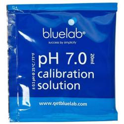 solution de calibration Sachet de 20ml Buffer ph 7 Bluelab