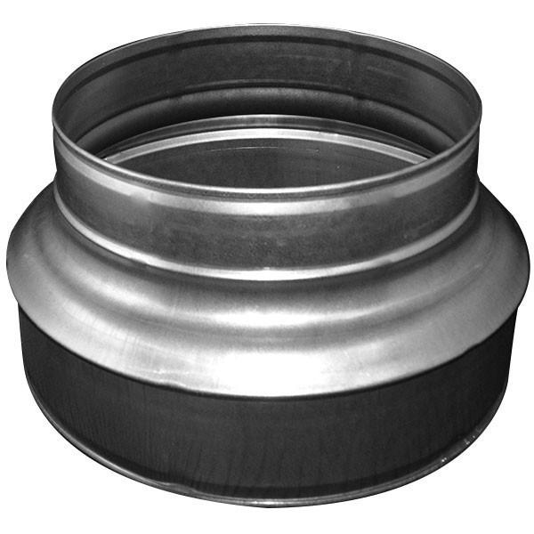 Aluminium duct reducer 150 - 100 mm