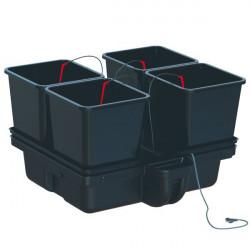 système hydroponique Hydrostar Big Pots 80 - 25L avec pompe MJ500 - Platinium Hydroponics