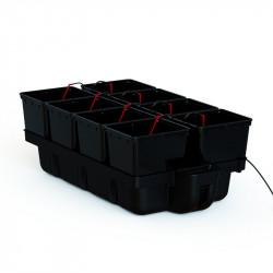 système hydroponique HydroPro 60x110 avec pompe MJ500 - Platinium Hydroponics