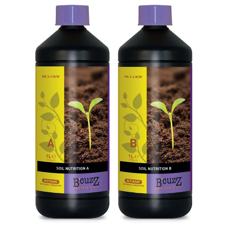 BCUZZ SOIL NUTRITION A+B 1L - ATAMI