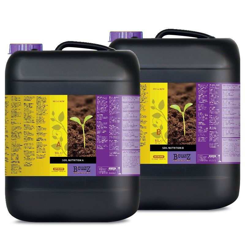 BCUZZ SOIL NUTRITION A+B 10L - ATAMI