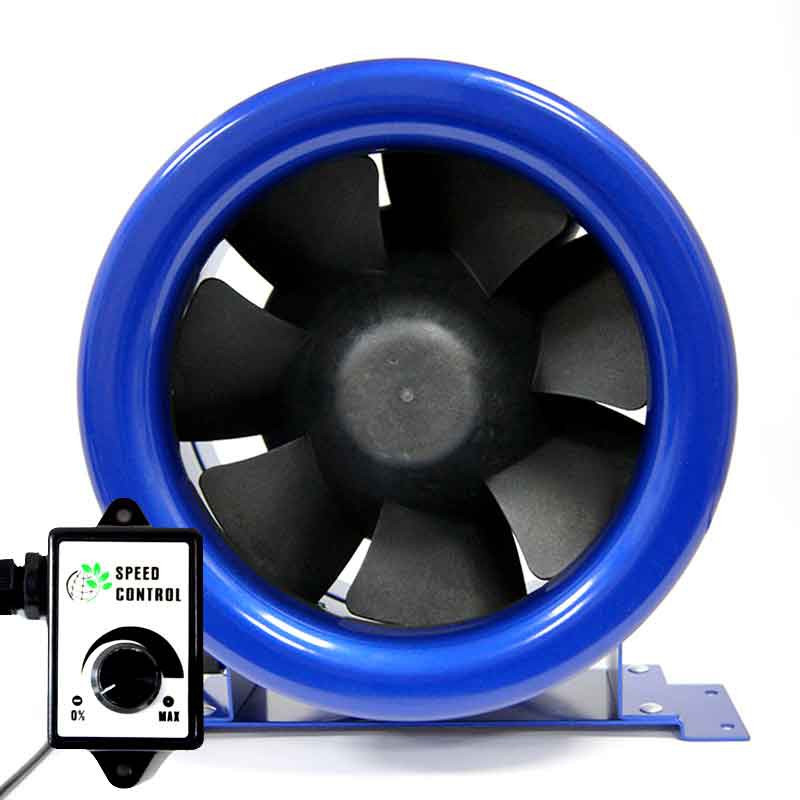 Extractor with controller Bull Fans Inline EC 200mm
