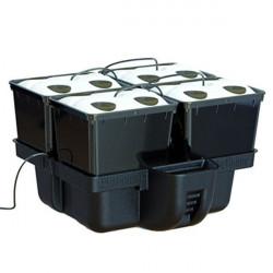 système aéroponique AeroPro 60 4 pots 16 sites 60 x 60 x 38,5 cm MJ 1000 - Platinium Aeroponics