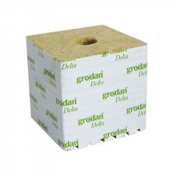 8 Cubes de laine de roche 7.5cm x 7.5cm x6.5cm - Grodan