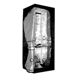 culture chamber Dual Grow-Tent Silver 90 X 60 X 200 cm (0,64 M2) ,wardrobe culture