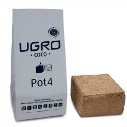 Pot 4L - Ugro , coco fiber compressed