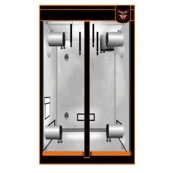 armoire de culture SUPERBOX MYLAR V2 60 (60x60x160) , chambre de culture mylar haute qualité 600D